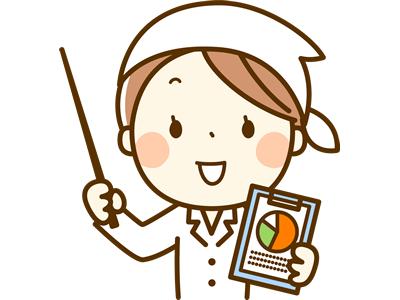 栄養士のイラスト
